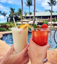 Malibu Farm at Four Seasons Resort Lanai, Hawaii via Candy Drinks, Fun Drinks, Yummy Drinks, Alcoholic Drinks, Cocktails, Tequila Mixed Drinks, Mixed Drinks Alcohol, Drinks Alcohol Recipes, Malibu Farm