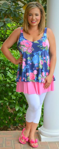 Perfectly Priscilla Boutique - Everything Is Coming Up Roses Top, $34.00 (http://www.perfectlypriscilla.com/everything-is-coming-up-roses-top/)