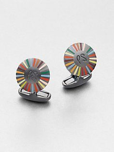 Paul Smith - Ray Of Colors Cufflinks Well Dressed Men, Paul Smith, Fashion Accessories, Cufflinks, Mens Fashion, Colors, Club, Jewelry, Style