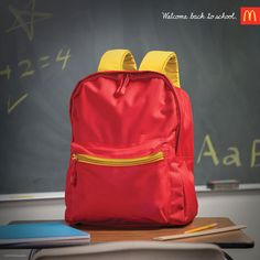 Check out McDonalds great Back to school themed ads. A series of brilliant back to school ads where the message is clear without showing any McDonalds food. School Advertising, Clever Advertising, Print Advertising, Advertising Campaign, Print Ads, Street Marketing, Guerilla Marketing, Photoshop, Ad Of The World