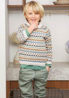 Boys Sweaters, Winter Sweaters, Fair Isles, Blonde Boys, Winter Gear, Sweater Design, Knitting For Kids, Barn, Blouse