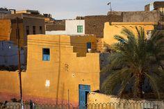 Nubian colours on Elephantine Island, Aswan, Egypt by Dietmar Temps, via Flickr