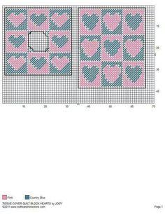 Hearts quilt tbc