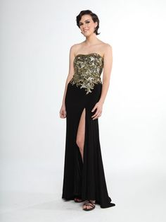 Jeweled Bodice Dress
