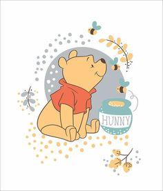 Winnie the Pooh Bear Panel