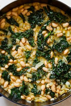 Vegetarian Recipes, Cooking Recipes, Healthy Recipes, Healthy Eats, White Bean Recipes, Beans Recipes, Chard Recipes, Main Dishes, Side Dishes