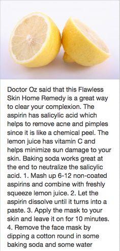 Skin home remedy