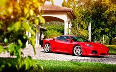 Ferrari Spider supercars beach yellow ferrari Cars