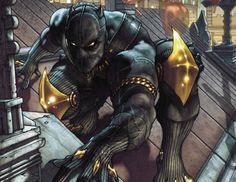 Marvel May Be Making a BLACK PANTHER Movie Soon. One of Marvel's two unannounced films may be the comic book property Black Panther. Ms Marvel, Marvel Comics Art, Marvel Comic Books, Comic Book Characters, Comic Book Heroes, Marvel Characters, Marvel Heroes, Comic Character, Comic Books Art