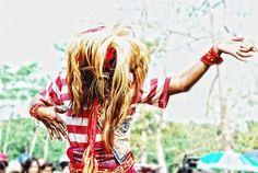"traditional dance ""Jaranan"""