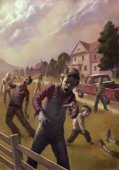 ubernoir: by scott-altmann - Every day is Halloween