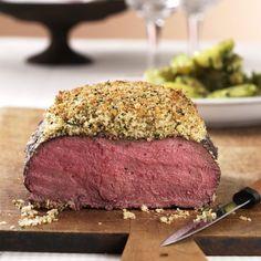 ESSEN & TRINKEN - Roastbeef mit Kräuterkruste Rezept