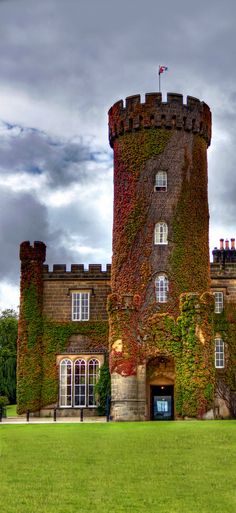 Swinton Park Castle, Yorkshire, England, UK