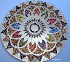 Mandala o,70cm | Cleo Mosaicos | 2576DB - Elo7