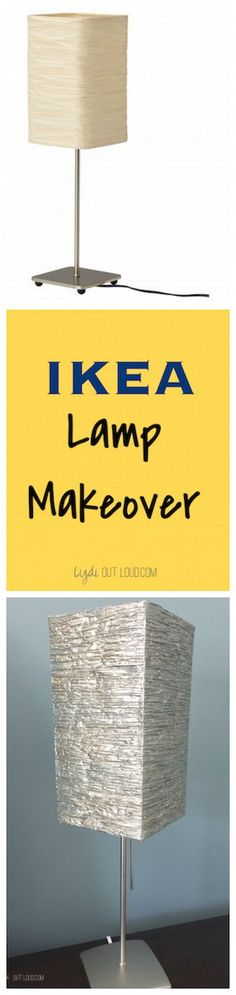 How to transform any old lamp shade with PAINT!