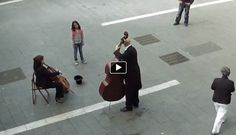 A little girl drops a coin in a musicians hat, then the magic start to happen..   Author Link: