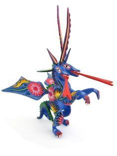 Dragon Alebrije | www.ChiapasBazaar.com