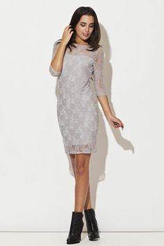 http://modneniebo.pl/pl/szara-koronkowa-sukienka.html