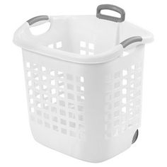 Laundry Bag Target Extraordinary Sterilite® 15 Buhip Hold Laundry Basket  White  Laundry Target Inspiration