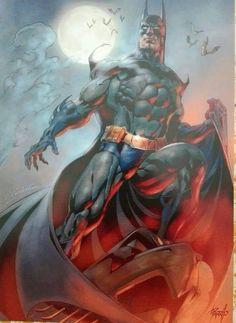Batman Art by Claudio Castellini