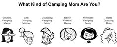 What kind of camping mom are YOU?!?  Plus a sweet giveaway from @grasshaven!