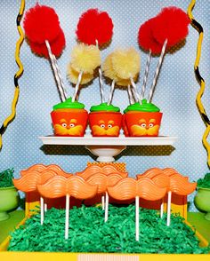 Dr Seuss' the Lorax Inspired Cupcake Wrappers  by SocialImagesInc, $6.00