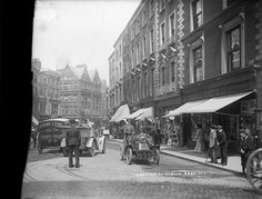 Grafton Street in all its glory by National Library of Ireland on The Commons, Dublin circa Dublin Street, Dublin City, Old Pictures, Old Photos, Grafton Street, Irish Catholic, Ireland Homes, Emerald Isle, Dublin Ireland