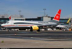 Boeing 737-8K5 D-ATUE 34686 Frankfurt Rhein-Main Int'l Airport - EDDF