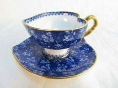 Heart-shaped tea cup