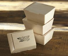"Small To-Go Box With Lid 6"" x 8"" – VerTerra Dinnerware.  Sourced from leftover wood and wrapped in rice paper.  Water & oil resistant"