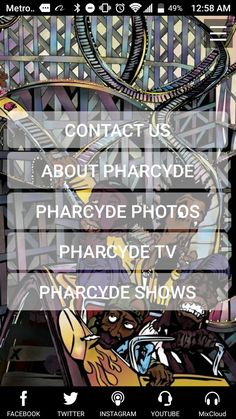 10 Days to Launch...The Pharcyde Official App