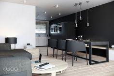 Wnętrza domu szeregowego w Hadze - KUOO Architects   Archinea - Architektura, Architekci, Projekty, Domy jednorodzinne, Architektura wnętrz