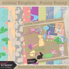 I'm so excited for this months blog train a Pixel Scrapper. It is my favorite theme: Animal Kingdom. Each of participants picked an animal and created freebie. Full list of participants can be found  here. I picked bunnies! February is adopt rescue bunny month – so it was no brainer for me. So it is not an(...)