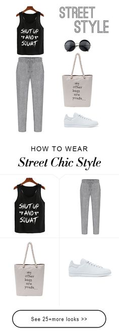 How to wear street chic style? This casual outfit is typical for a simple casual street style. Shop all above at shein.com. And find more casual look here. US$7.99 for the top.
