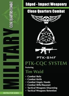 MILITARY PTK-CQC CLOSE QUARTERS COMBAT SYSTEM - TWO (2) DVD SET