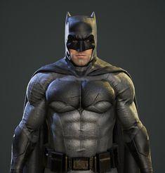 Batman V Superman Game Character - Batman, Ferdinand Reginensi on ArtStation at https://www.artstation.com/artwork/50qWw