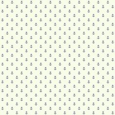 Sample Anchor Spot Wallpaper in Ivory and Navy design by York Wallcoverings