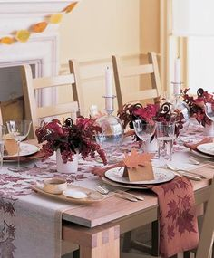 #matildetiramisu #concorso La tavola d'autunno.