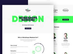 Workshops Weekend: Design