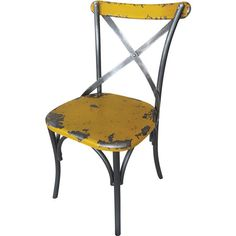 I pinned this Bali Chair in Yellow from the Finley & Co. event at Joss and Main!