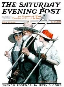 Women Work For War by Charles McClellan, July 20, 1918, Saturday Evening Post.