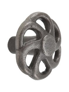 "Pinwheel Cast-Iron Cabinet Knob - 1 5/8"" Diameter 