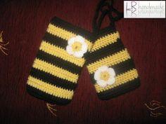 Crochet cell phone covers/heklane torbice za mobilni telefon