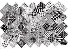78 Best ideas about Easy Zentangle Patterns on Pinterest | Doodle ...