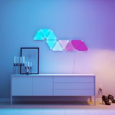 Nanoleaf Aurora Smart Lights - What To Get The Cool Kiddo In Your Life - Photos