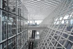 studio fuksas expands shenzhen bao'an international airport - designboom | architecture & design magazine