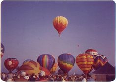 Memories of going to The Great Balloon Race with my family- Louisville KY
