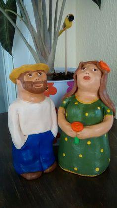 Ninas. Bonecas em cerâmica.