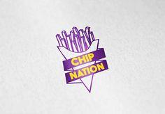 Captivate Hospitality - Restaurant Branding - Chip Nation Logo