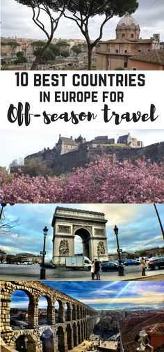 In this post, I would like to tell you about 10 best destinations in Europe for off-season travel. Europe can be overwhelming. Backpacking Europe, Europe Travel Guide, Travel Guides, Budget Travel, Best Countries In Europe, Cool Countries, European Destination, European Travel, Amazing Destinations